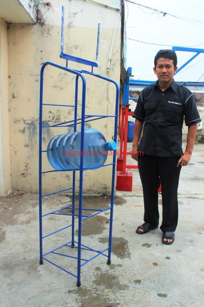 JUAL RAK GALON AIR | MINERAL | AQUA | ISI ULANG | MURAH | JAKARTA | BANDUNG | SURABAYA | http://www.rajarakminimarket.com