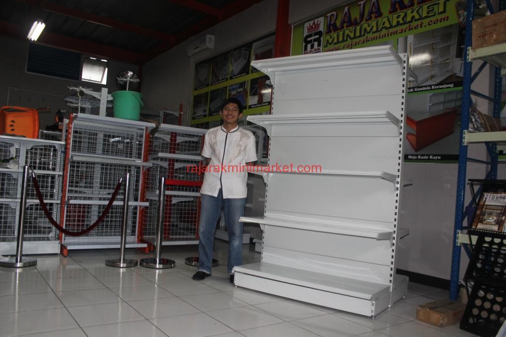 JUAL RAK GONDOLA SUPERMARKET | RAJA RAK INDONESIA | JAKARTA | www.rajarakminimarket.com