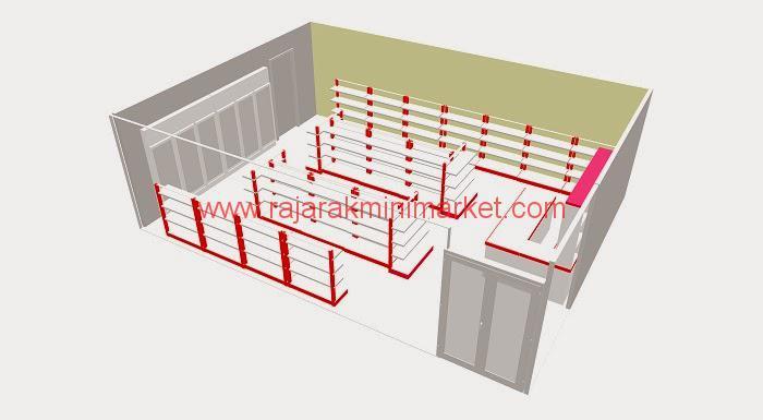 Desain Minimarket Minimalis