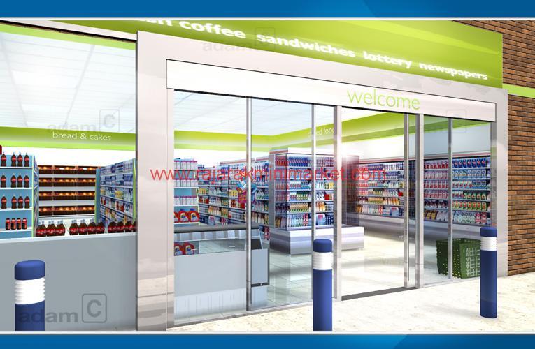 Mini Mart Interior Design
