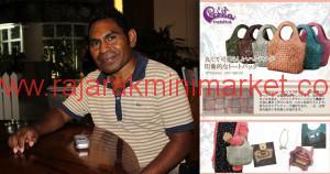 Sunny Kamengmau sukses menciptakan tas Robita yang digemari di Jepang.