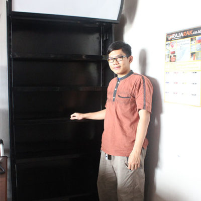 Rak Display Depan Kasir / rak belakang kasir minimarket