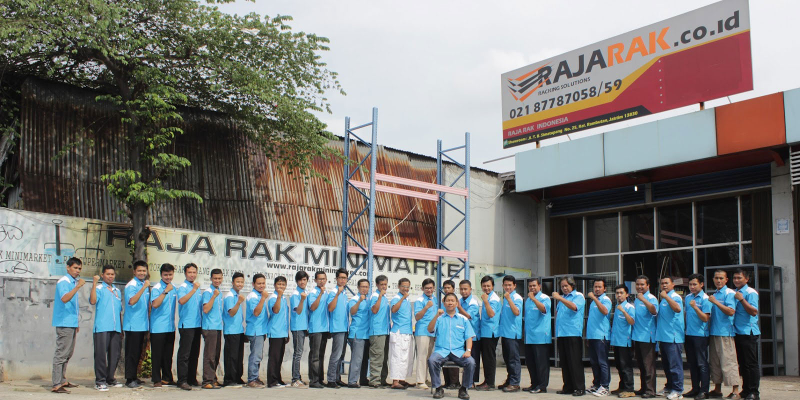 Showroom RAJA RAK MINIMARKET