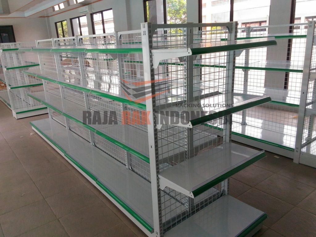 Pemasangan Rak Minimarket Tipe RR-15 Cilegon Banten