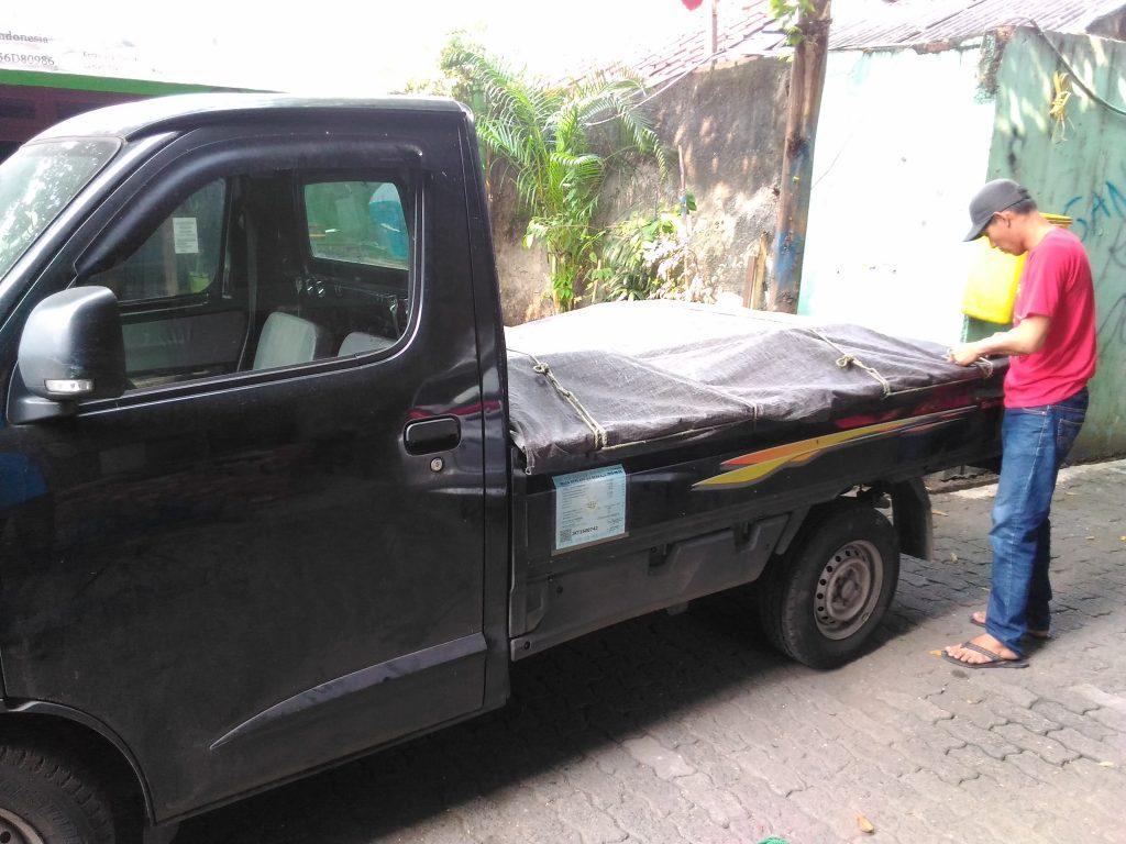 Pengiriman Rak Gudang Rekondisi Ke Lampung