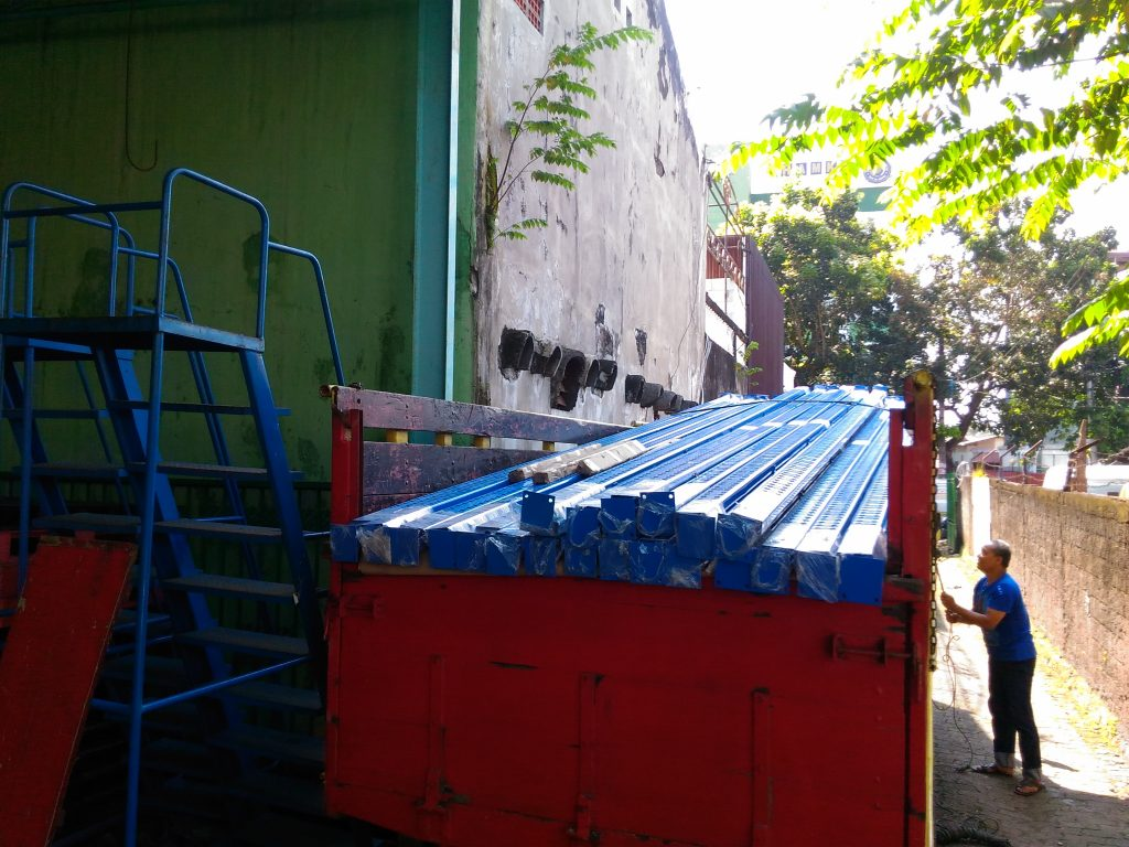Pengiriman Rak Gudang Heavy Duty Plus Support Bar ke Bekasi Jawa Barat