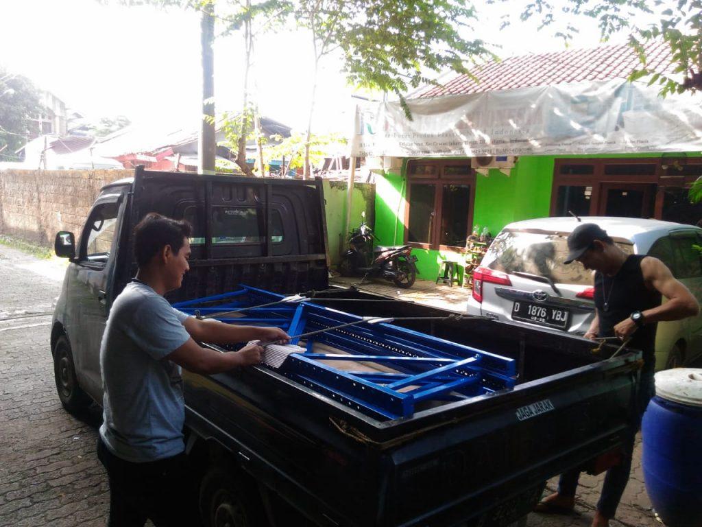 Pengiriman Rak Gudang Light Duty RR-36 ke Ancol Jakarta Utara