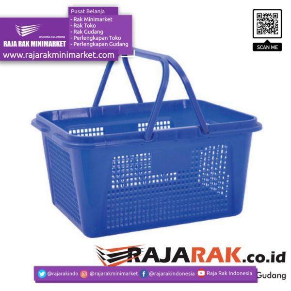 Keranjang Belanja Jinjing Veronica | Keranjang Plastik Toko Minimarket rajarakminimarket raja rak indonesia raja rak gudang