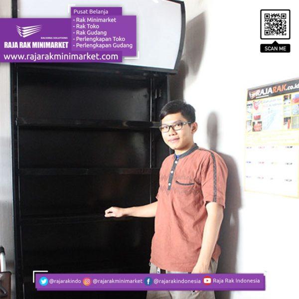 Rak Belakang Kasir Rak Rokok Minimarket Tipe RBK-01AZ