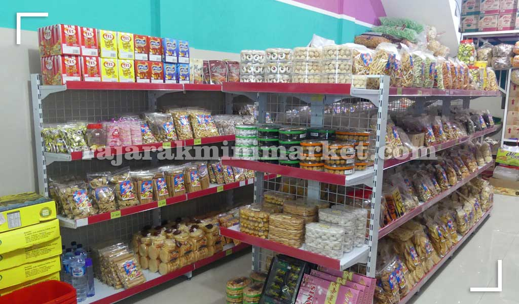 Rak Minimarket Untuk Bisnis Ritel