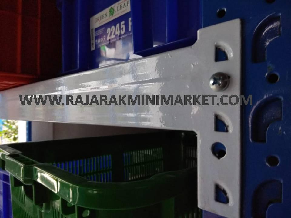 rak besi jakarta tipe rr-37 kekuatan 300 Kg per Level | Raja Rak Indonesia