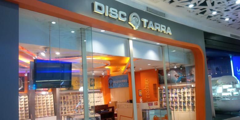 Disc Tarra, Salah satu dari 5 Toko Ritel ini Bangkrut
