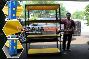 JUAL RAK BESI SIKU GUDANG NON BAUT EON TIPE E-150 JAKARTA
