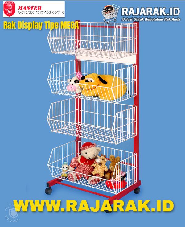 Rak Display Master Tipe Mega 1