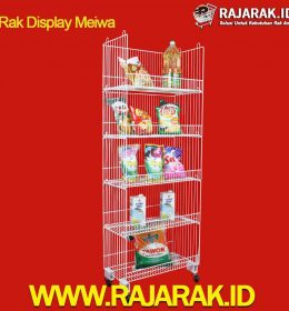 Rak Display Norwei Kubik