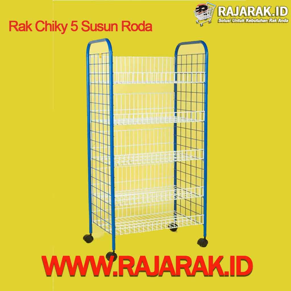 Rak Chiky 5 Susun Roda