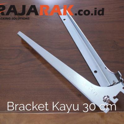 Daun Bracket Kayu 30 cm Tebal 3 mm - Rak Dinding - Rak Kayu - Display Aksesoris