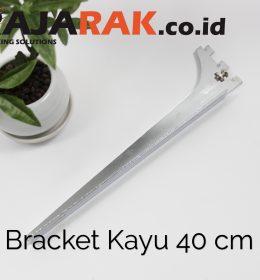 Daun Bracket Kayu 40 cm Tebal 3 mm - Rak Dinding - Rak Kayu - Display Aksesoris