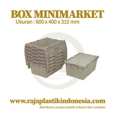 BOX PLASTIK MINIMARKET TIPE RPI-17000