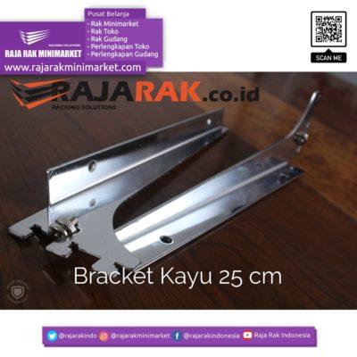 Daun Bracket Kayu 25 cm Tebal 3 mm – Rak Dinding – Rak Kayu rajarakminimarket raja rak indonesia raja rak gudang