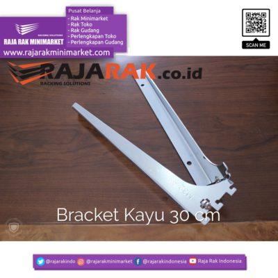 Daun Bracket Kayu 30 cm Tebal 3 mm - Rak Dinding - Rak Kayu - Display Aksesoris rajarakminimarket raja rak indonesia raja rak gudang