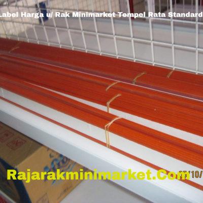 Label Harga / Price Tag Tempel Rata Standard