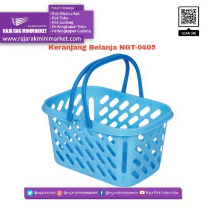 Keranjang Belanja Plastik Jinjing NGT-0405 | Keranjang Toko Minimarket rajarakminimarket raja rak indonesia raja rak gudang