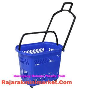 Keranjang belanja Plastik Rovega tipe BAS-01