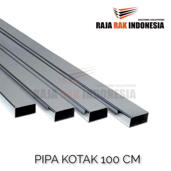 PIPA KOTAK PANJANG 100 CM UKURAN 15x30 MM