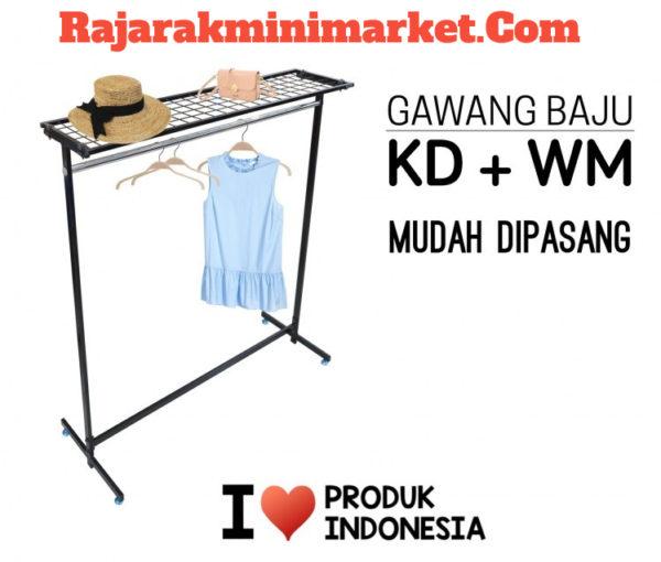 RAK GAWANG BAJU / PAKAIAN UNTUK TOKO BUSANA FASHION MODEL KD + WM