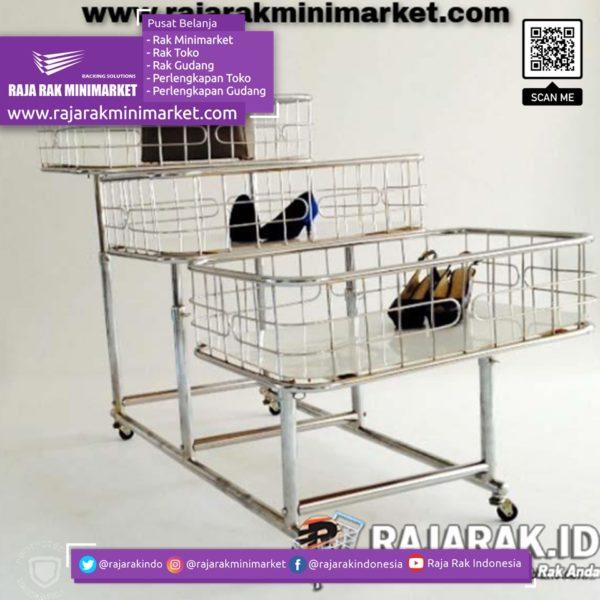 RAK OBRAL 3 TINGKAT TIPE RO-06   RAK TOKO MINIMARKET rajarakminimarket raja rak indonesia raja rak gudang