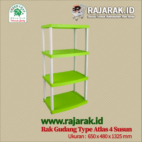 RAK GUDANG PLASTIK TIPE ATLAS S4