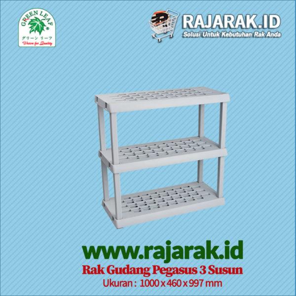 RAK GUDANG PLASTIK TIPE PEGASUS 1373 S3