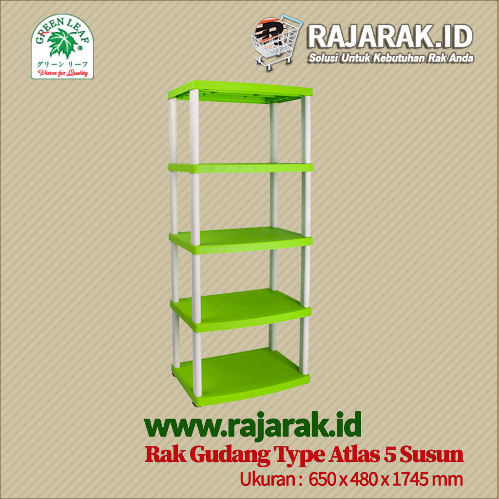 RAK GUDANG PLASTIK TIPE ATLAS S5