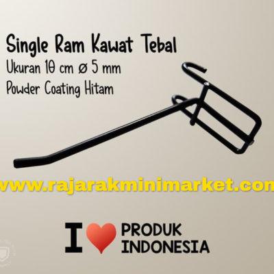 SINGLE RAM 10 CM HITAM / 10 PCS