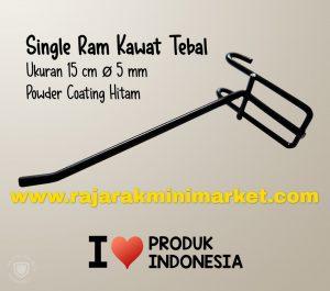SINGLE RAM 15 CM HITAM / 10 PCS