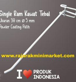 SINGLE RAM 30 CM PUTIH / 10 PCS