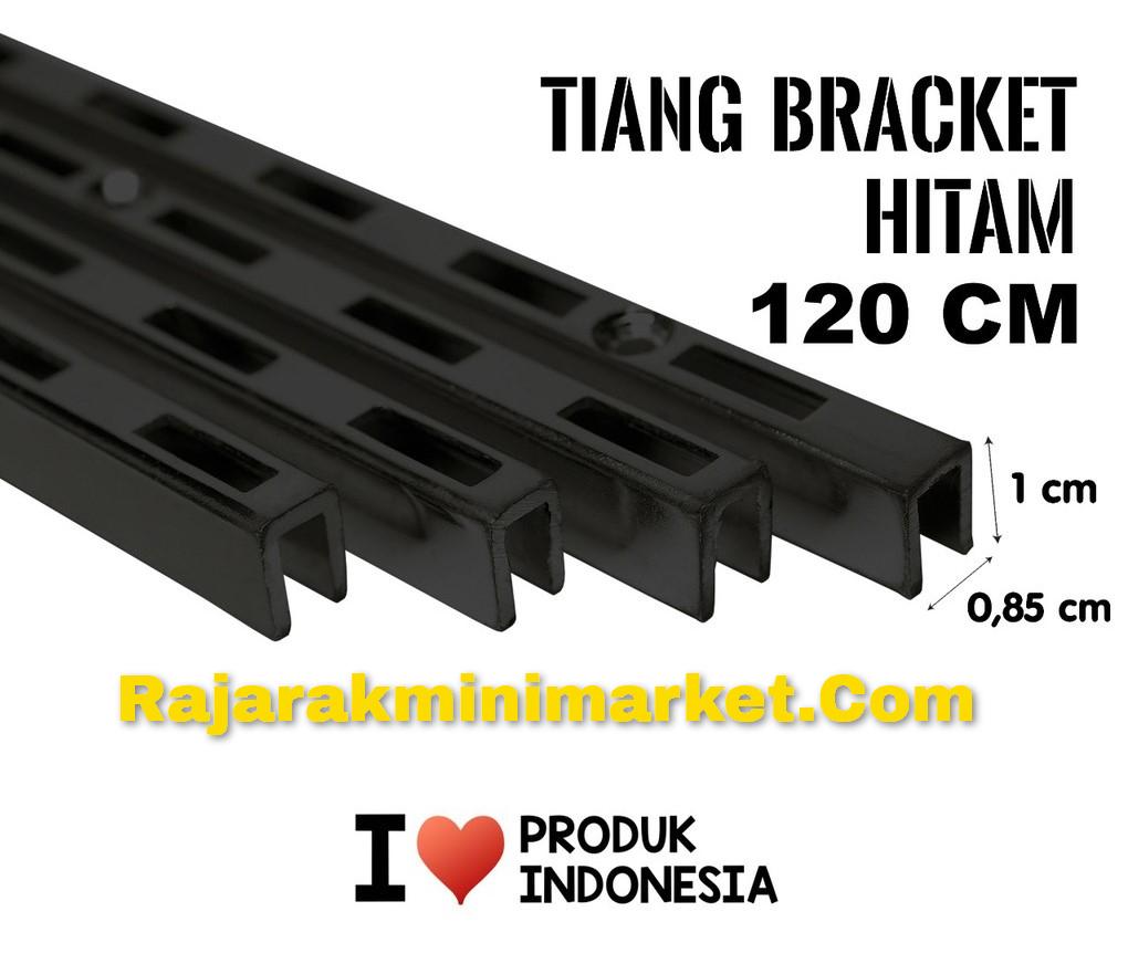 TIANG BRACKET HITAM 120 CM TIPE TBH120