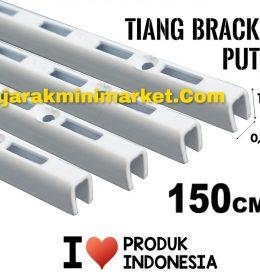 TIANG BRACKET PUTIH 150 CM TIPE TBP150