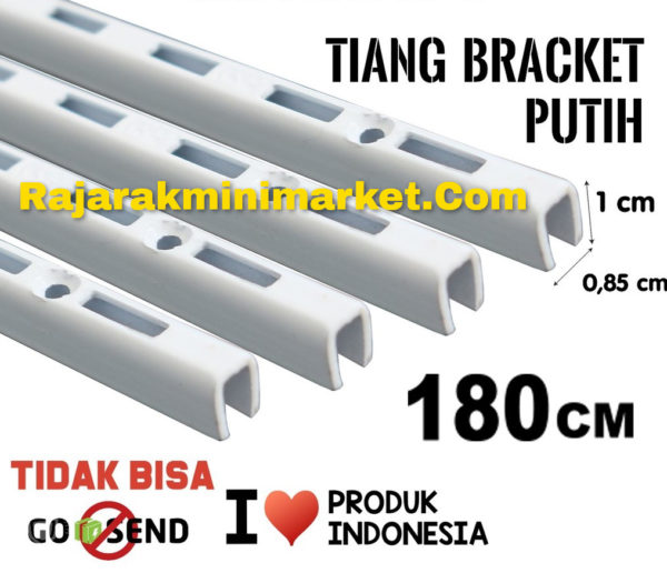TIANG BRACKET PUTIH 180 CM TIPE TBP180