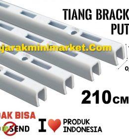 TIANG BRACKET PUTIH 210 CM TIPE TBP210