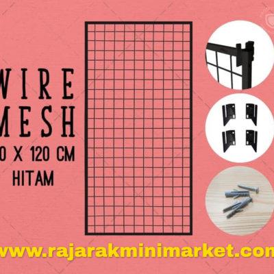 RAM BINGKAI WIREMESH 60x120CM + H5 WALL HITAM