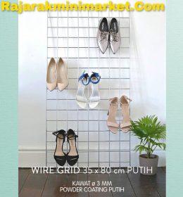 WIREMESH TANPA BINGKAI / WIRE GRID 35X80 CM PUTIH