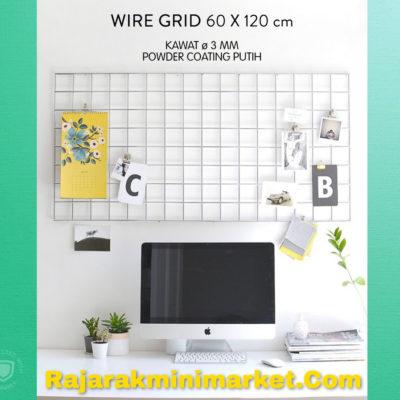 WIREMESH TANPA BINGKAI / WIRE GRID 60X120 CM