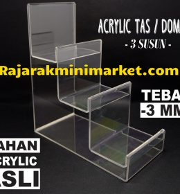 DISPLAY ACRYLIC - AKRILIK DISPLAY TAS / DOMPET JAKARTA