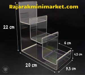DISPLAY ACRYLIC - AKRILIK DISPLAY TAS / DOMPET