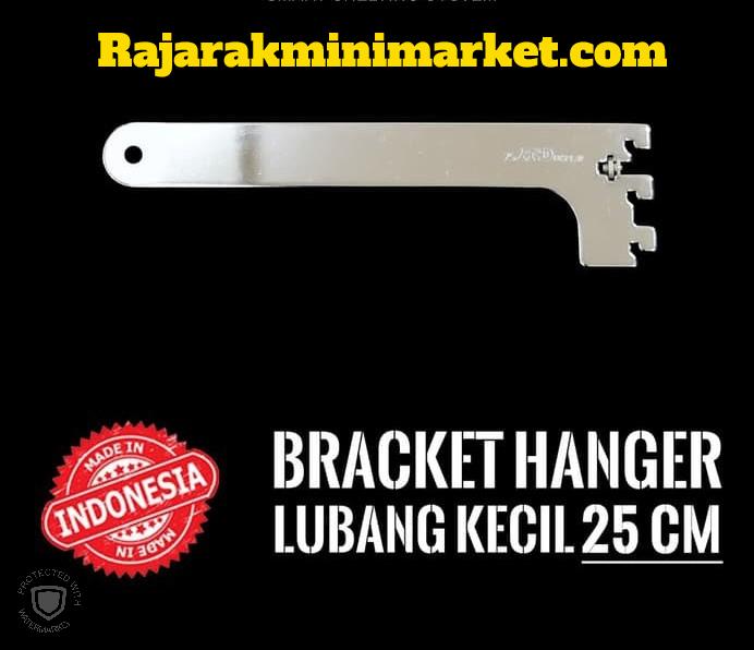 BRACKET HANGER LUBANG KECIL 25 CM