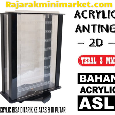 DISPLAY ACRYLIC - AKRILIK ANTING 3D