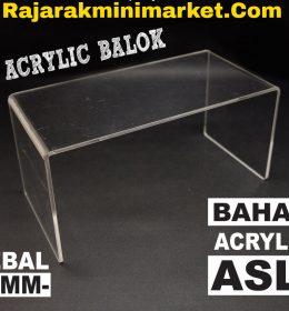 DISPLAY ACRYLIC - AKRILIK BALOK 10CM