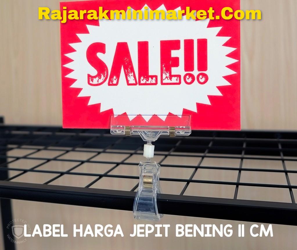 DISPLAY HARGA JEMPOL JEPIT BENING 11CM